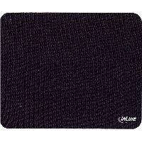 InLine 55450 InLine® Maus-Pad Recycled, schwarz, 230x190x2,5mm