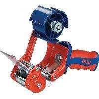 tesa 06400-00001-03 tesa Packbandhandabroller Comfort, bis 66m x 50mm, rot/blau