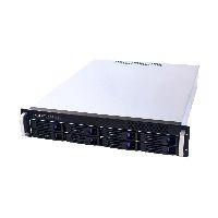 "Fantec 1670 FANTEC SRC-2080X07, 2HE 19""-Storagegehäuse ohne Netzteil, 550mm tief"
