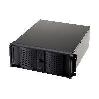 """Fantec 2995 FANTEC TCG-4860KX07-1, 4HE 19""""-Servergehäuse ohne Netzteil, 528mm tief"""