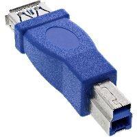 InLine 35300D InLine® USB 3.0 Adapter, Buchse A auf Stecker B