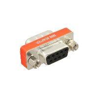 InLine 31437 InLine® Nullmodemadapter, 9pol Stecker / Buchse, bulk